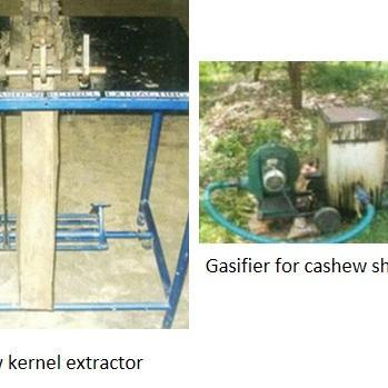 Cashewnut processing machinery
