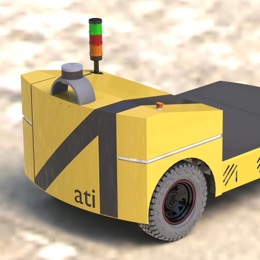 Autonomous electric cargo vehicle