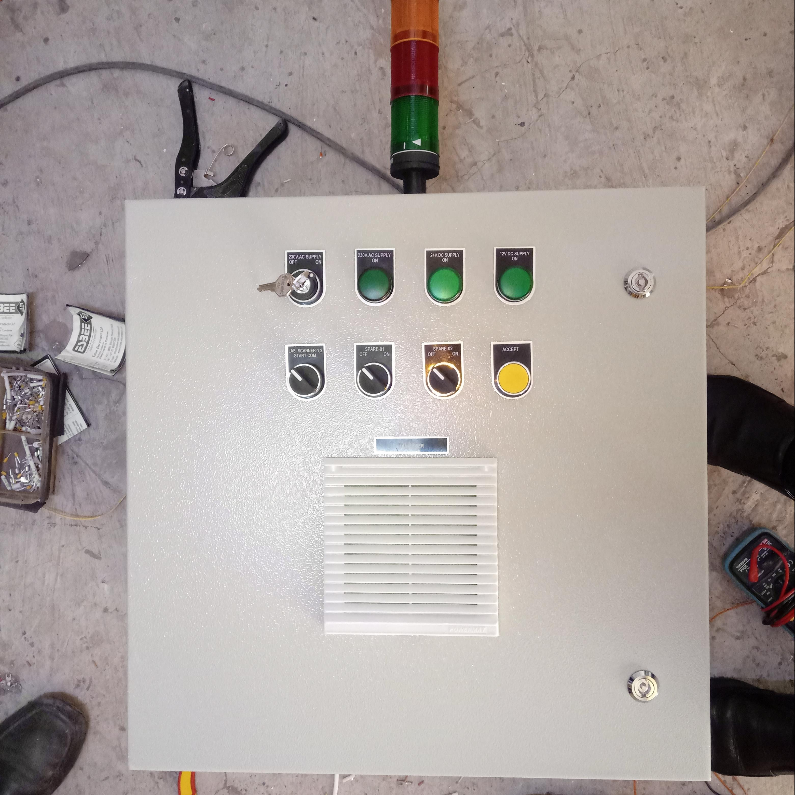 A Conveyor Health Monitoring System