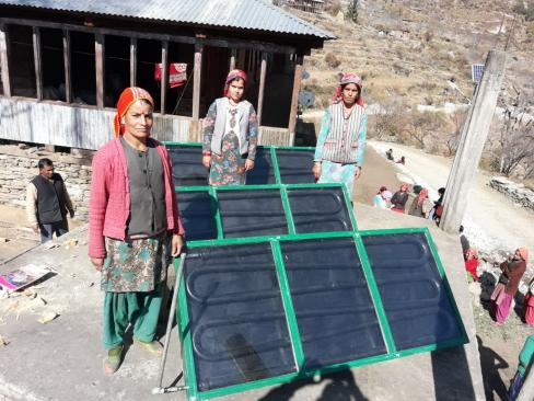 Mountain Solar Water and Space Heating Systems